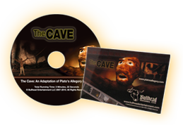 PURCHASE THE CAVE ANIMATION DVD- THE CAVE: AN ADAPTATION OF PLATO'S ALLEGORY IN CLAY
